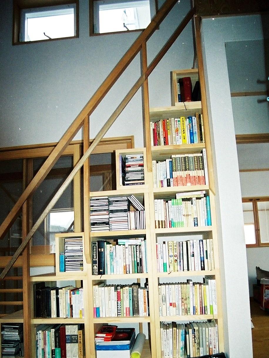 書棚のある暮らし