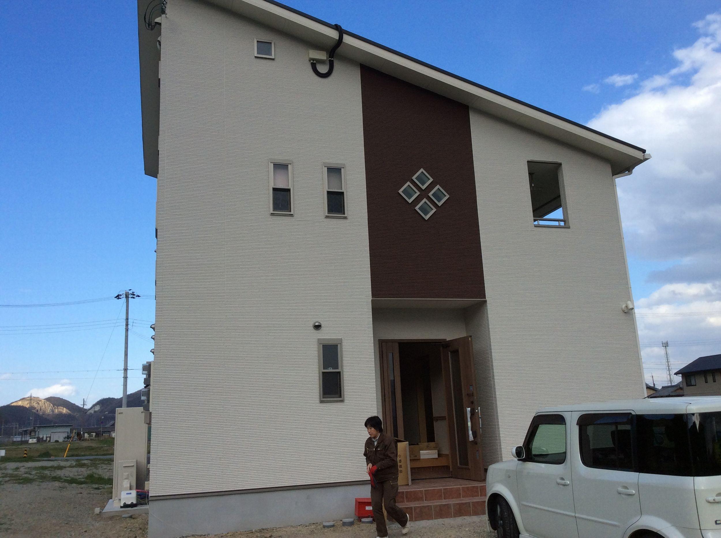 シンプルモダンの家