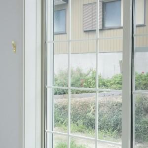 樹脂LOW-Eペアガラスのサッシ