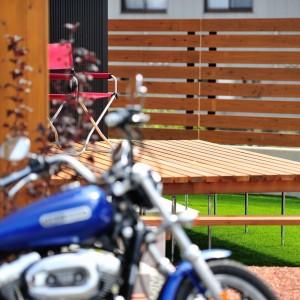 バイク好きにはたまらない家