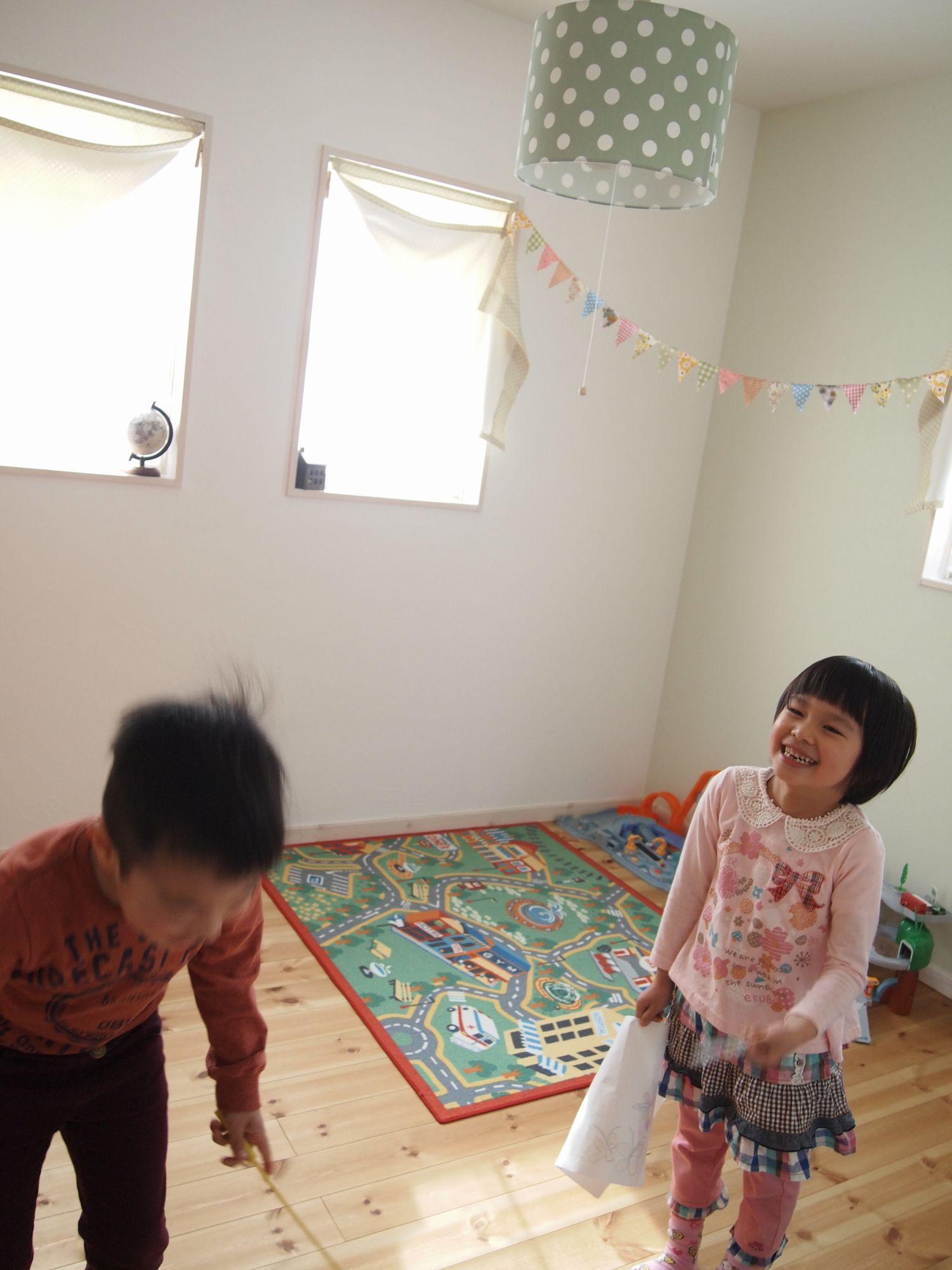 子供がスクスク育つ家