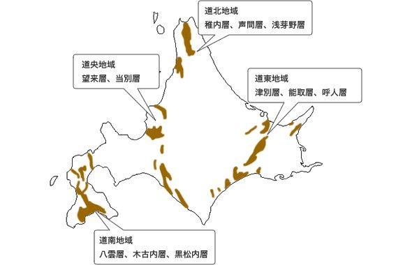北海道産出図